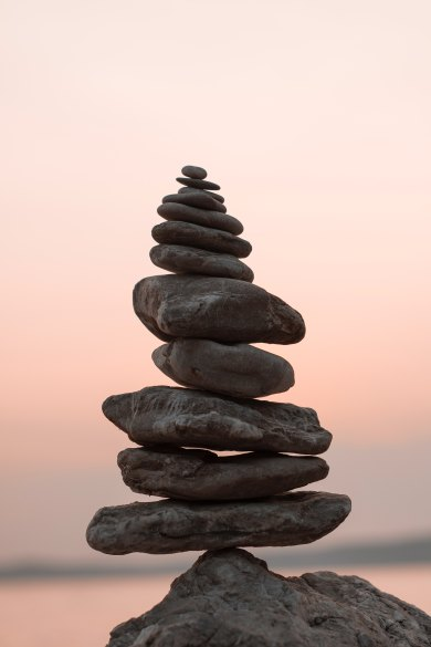 rock cairn dr meg nd unsplash