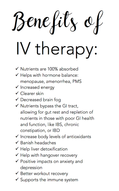 benefits of iv therapy image